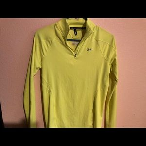 Under Armour Heat Gear Lime Long Sleeves Shirt